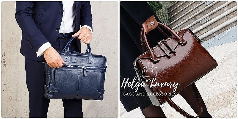 Деловые сумки для мужчин и женщин: как носить и с чем сочетать?